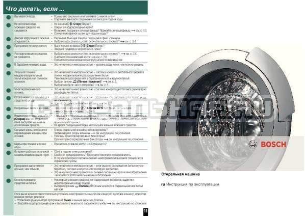 Инструкция Bosch WAE16164OE страница №8