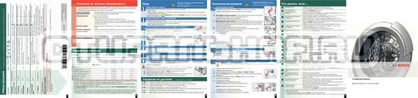 Инструкция Bosch WAE20364OE страница №2