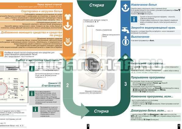 Инструкция Bosch WAQ20441OE страница №4