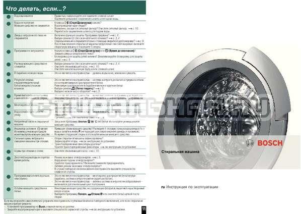 Инструкция Bosch WAQ28441OE страница №8