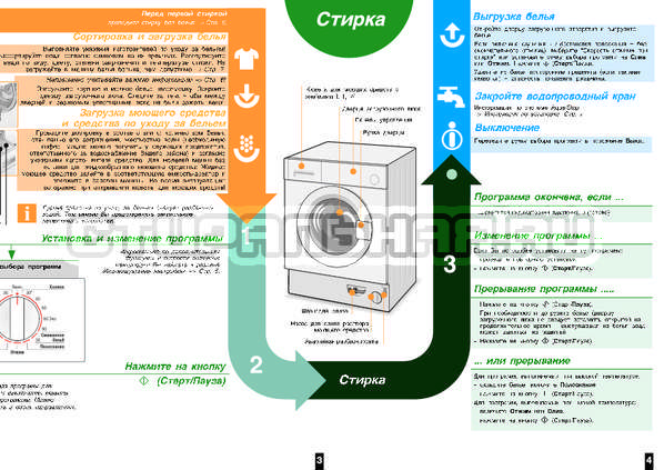Инструкция Bosch WIS24140OE страница №4