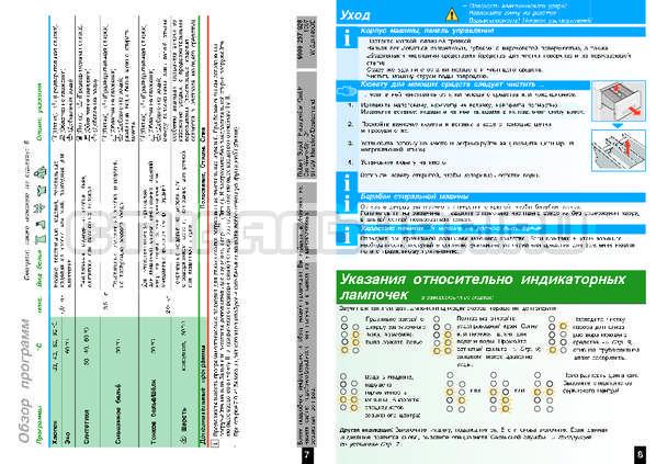Инструкция Bosch WIS24140OE страница №6