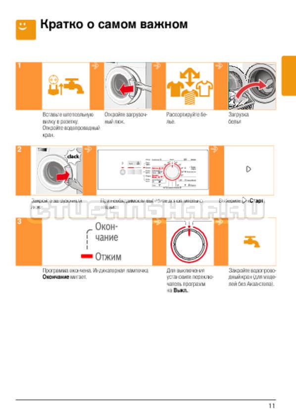 Инструкция Bosch WLG20060OE Classixx 5 страница №11