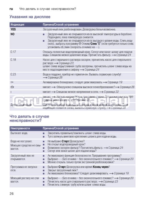 Инструкция Bosch WLK20267OE Serie 6 страница №26