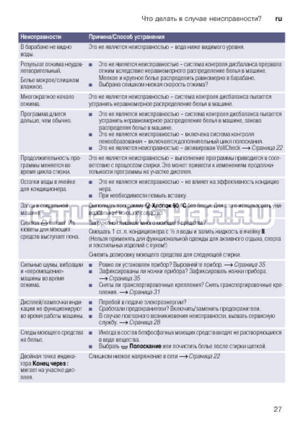 Инструкция Bosch WLK20267OE Serie 6 страница №27