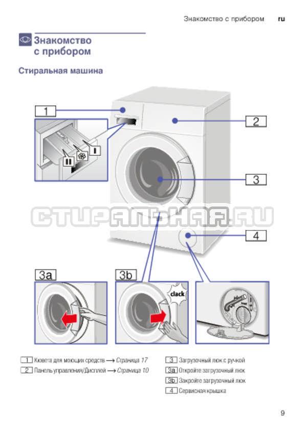 Инструкция Bosch WLK2416SOE страница №9