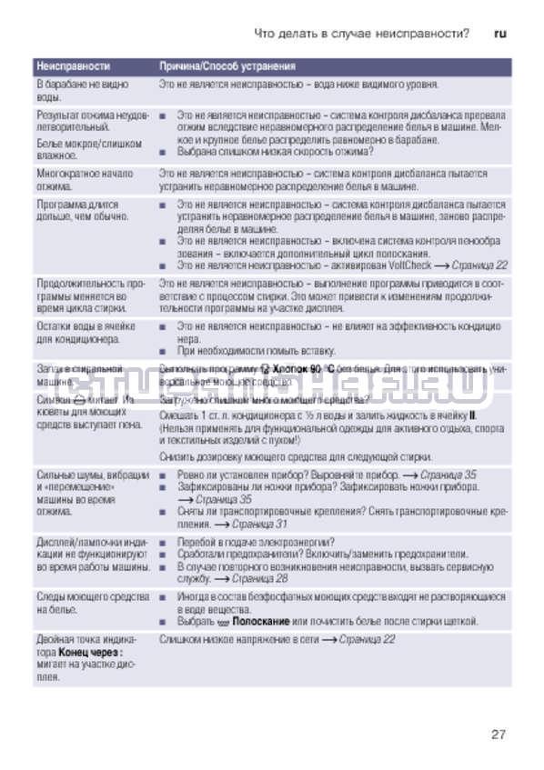 Инструкция Bosch WLK24271OE страница №27