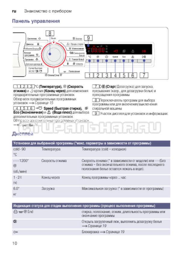 Инструкция Bosch WLK24271OE страница №10