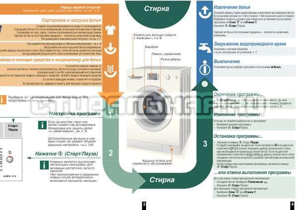 Инструкция Bosch WLM2445SOE страница №4