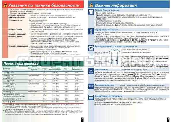 Инструкция Bosch WLM2445SOE страница №7