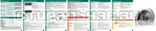 Инструкция Bosch WVH28360OE Maxx Wash Dry страница №2