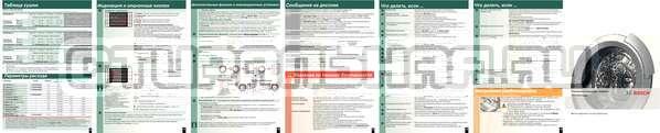 Инструкция Bosch WVH28441OE Wash Dry Avantixx страница №2