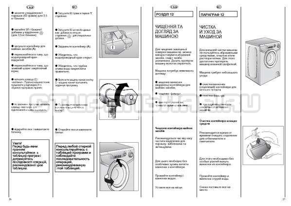 Инструкция Candy AQUAMATIC 600 страница №14