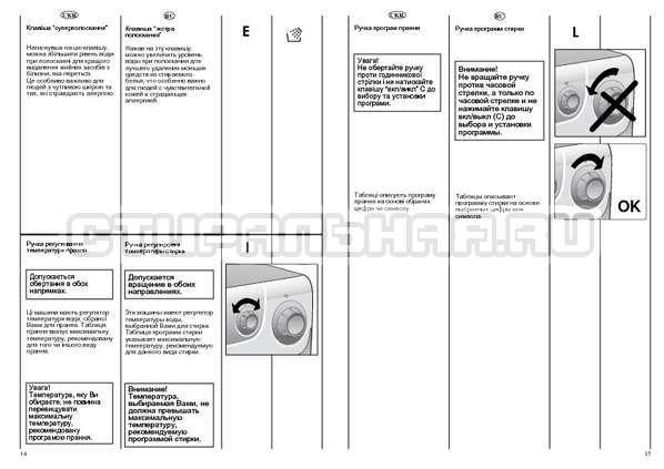 Инструкция Candy AQUAMATIC 600 страница №8