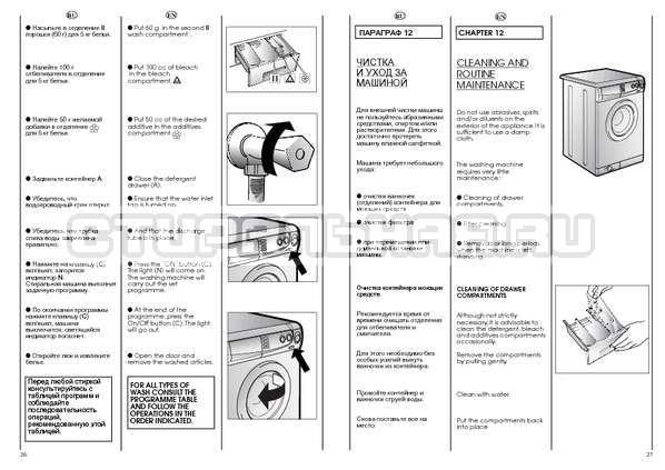 Инструкция Candy CBE 1025 T страница №14