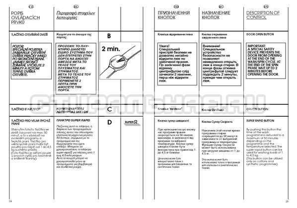 Инструкция Candy CBE 825 T страница №13