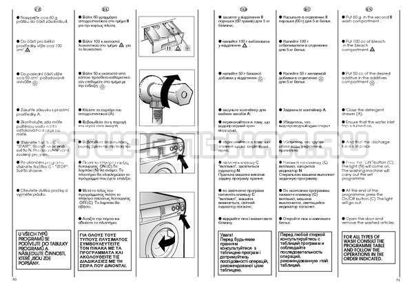 Инструкция Candy CBE 825 T страница №26