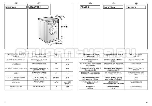 Инструкция Candy CBE 825 T страница №8