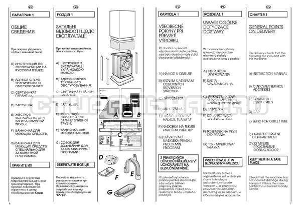 Инструкция Candy CBL 100 страница №4