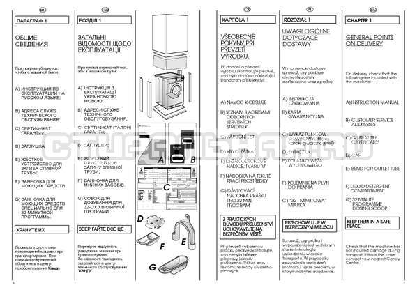 Инструкция Candy CBL 85 страница №4