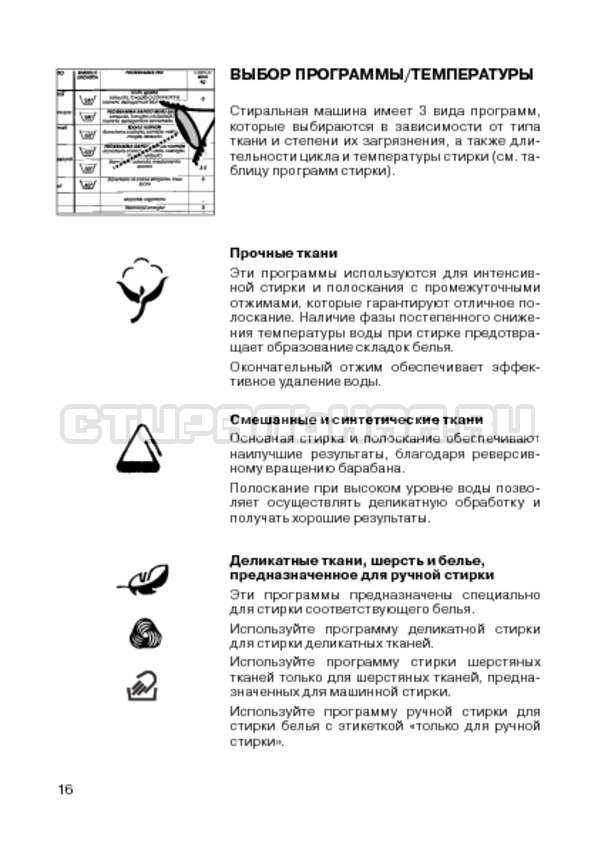 Инструкция Candy CIN 100 T страница №18