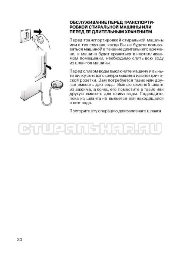 Инструкция Candy CIW 100T страница №32
