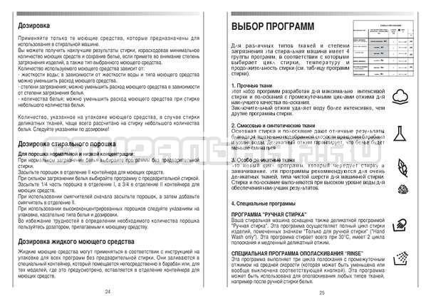 Инструкция Candy CS 105 TXT страница №13