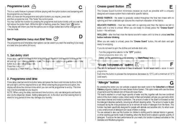 Инструкция Candy CS 105 TXT страница №26