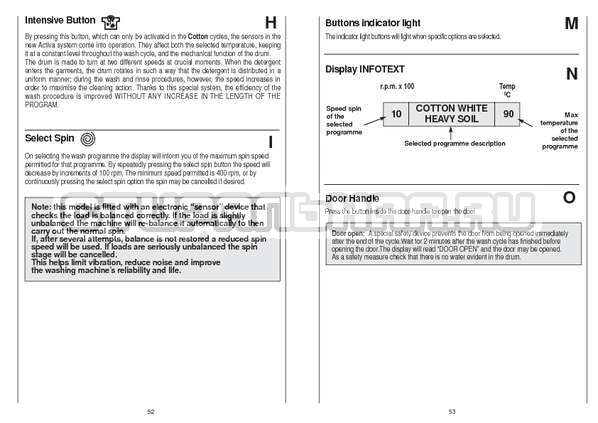 Инструкция Candy CS 105 TXT страница №27