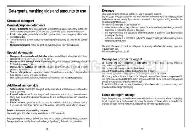 Инструкция Candy CS 105 TXT страница №32