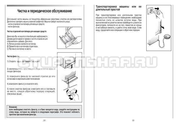 Инструкция Candy CS 125 TXT-RU страница №17