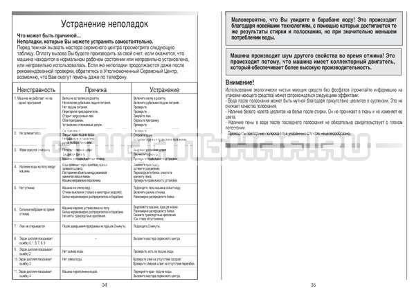 Инструкция Candy CS 125 TXT-RU страница №18