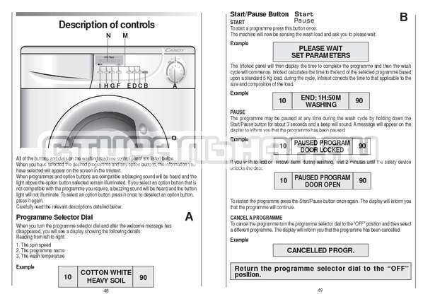 Инструкция Candy CS 125 TXT-RU страница №25