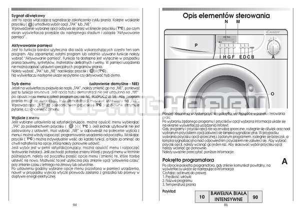 Инструкция Candy CS 125 TXT-RU страница №43