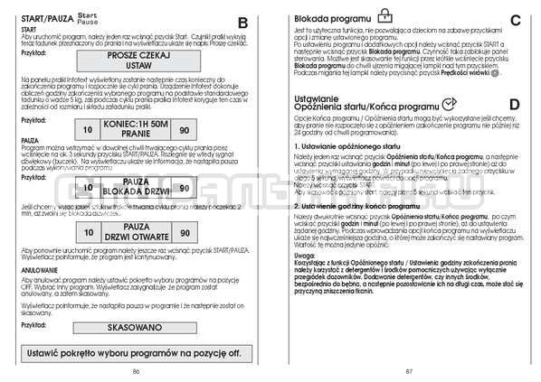 Инструкция Candy CS 125 TXT-RU страница №44