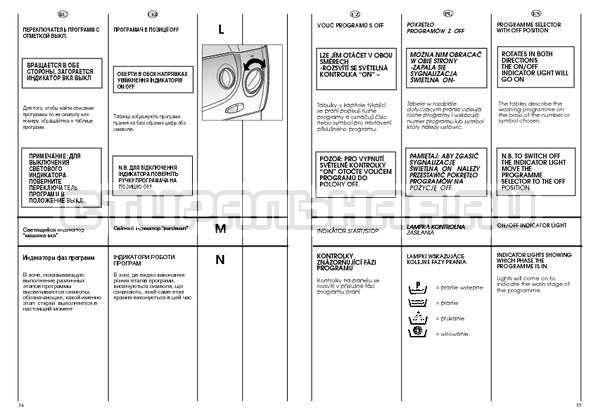 Инструкция Candy CSBL 100 страница №18