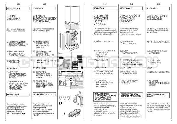Инструкция Candy CSBL 100 страница №4