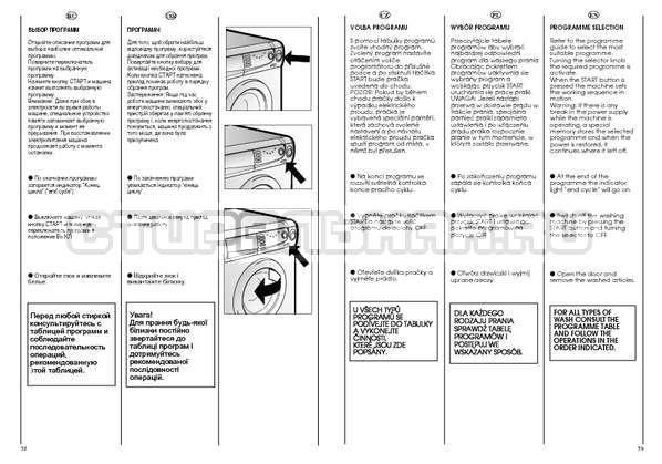 Инструкция Candy CSBL 85 страница №30