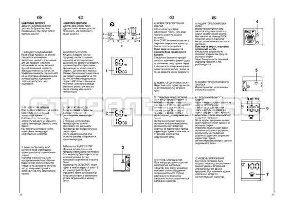 Инструкция Candy EVO44 1284 LW страница №12