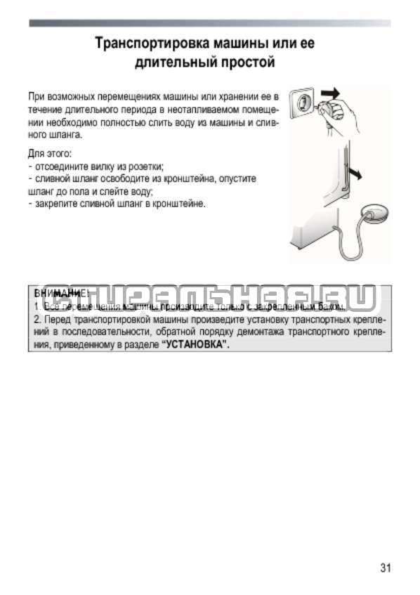 Инструкция Candy GC4 1062 D страница №31