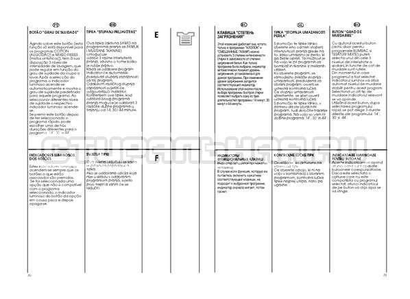Инструкция Candy GO W264D страница №16