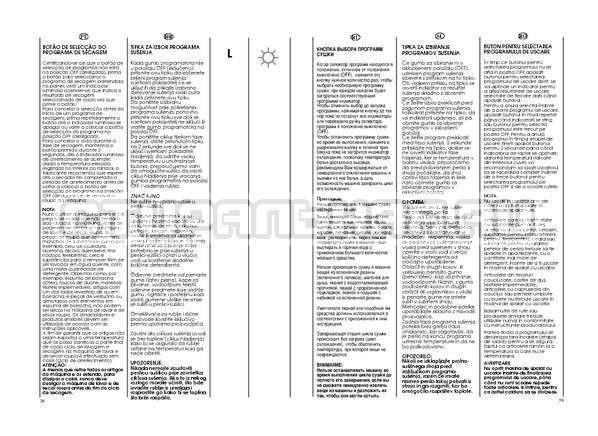 Инструкция Candy GO W264D страница №20