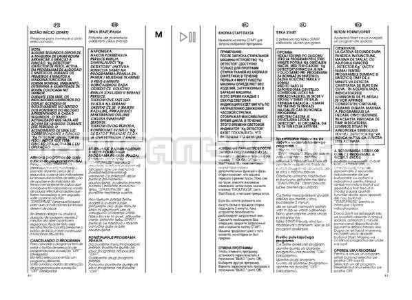 Инструкция Candy GO W264D страница №21