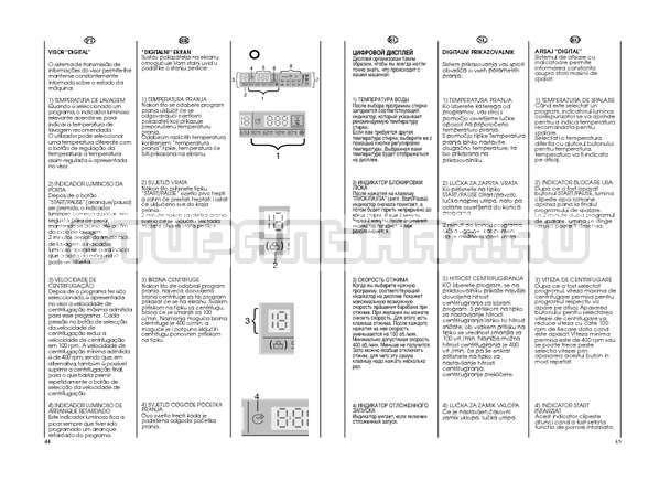 Инструкция Candy GO W264D страница №23