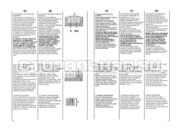 Инструкция Candy GO W264D страница №24