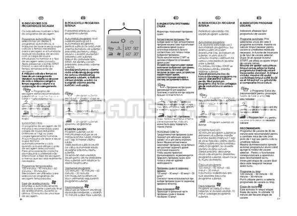 Инструкция Candy GO W264D страница №25