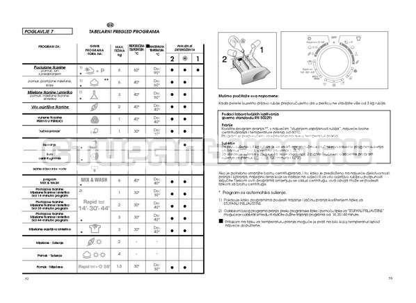 Инструкция Candy GO W264D страница №27