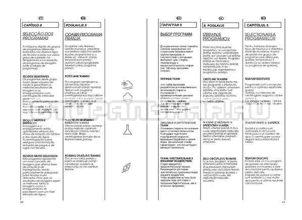 Инструкция Candy GO W264D страница №31