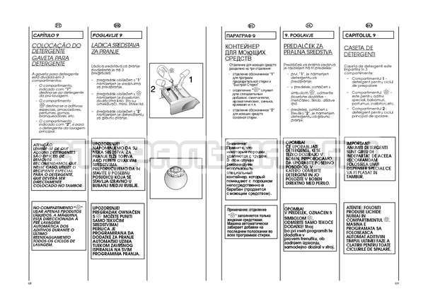 Инструкция Candy GO W264D страница №35