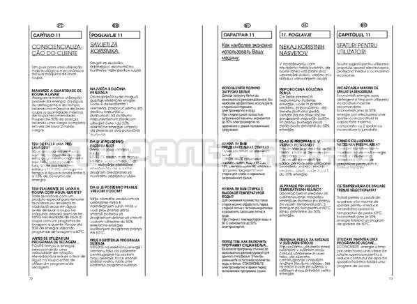 Инструкция Candy GO W264D страница №37